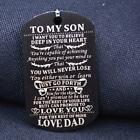 Kyпить Chic Necklace To My Son Daughter Dog Tag Military Necklace Family Jewelry Gift F на еВаy.соm