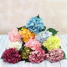 11 Branches Artificial Hydrangea Flower High-end Wedding Floral Home Party Decor