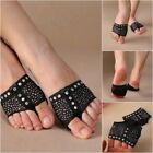 Crystal Foot Thongs Toe Undies Forefoot Half Shoes Belly Ballet Dance Paws Pad