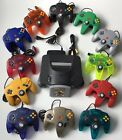 N64 SYSTEM NINTENDO 64 CONSOLE + CONTROLLERS + SUPER MARIO KART AUTHENTIC BUNDLE