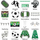 FOOTBALL / SOCCER PARTY RANGE - DECORATIONS AND PARTYWARE COMPLETE SELECTION