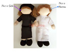 30cm Hassan & Safa The Faceless 'Shariah Compliant' Doll for Muslim Girls & Boys