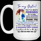 To My Bestie We've Been Friends For So Long 21504 15 oz. White Coffee Mug image