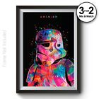 Stormtrooper Poster - Star Wars Wall Art Print in Giclee Quality 100% Cotton £7.95 GBP on eBay