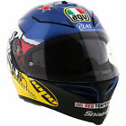 AGV Motorbike Motorcycle Track K5-S Guy Martin 3Some - Blue / Fuschia / Yellow