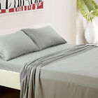 Super Deluxe 1800 Count Hotel Quality 4 Piece Deep Pocket Bed Sheet Set 2 Colors image