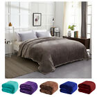 Plush Fleece Blanket Soft Warm Lightweight Comfortable All Season Use Blanket  image