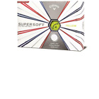 2019 CALLAWAY SUPERSOFT GOLF BALLS - WITH HEX AERODYNAMICS  WHITE OR YELLOW DOZ