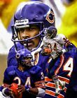 Walter Payton  Chicago Bears Running Back 3 NFL Football 8x10-48x36 CHOICES