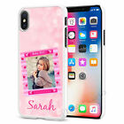 Personalised Any Image And Name Phone Case Cover For iPhone Samsung Huawei 079-5