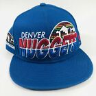 Denver Nuggets New Era 9Fifty NBA Hardwood Classics Small-Medium Flat Bill Snapb