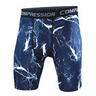 Men Gym Training Sports Workout Jogging Shorts Compression Tight Pants Shan