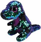 TY BEANIE BOO & BABIES 15cm FLIPPABLES SOFT TOY WITH SEQUINS MANY TO CHOOSE FROM