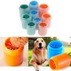 Soft Pet Dog Paw Cleaner Silicone Foot Washer Brush Cup Washing Dirt Cup