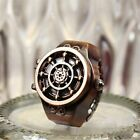 Vintage Rudder Character Unisex Retro Finger Ring Quartz Watches Antique Gifts