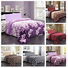 Plush Fleece Blanket Soft Printed Flannel Blanket For Bed Couch Sofa Queen/King image