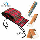 Maxcatch Fly Fishing Rod Bag Thicken Cotton Cloth Sock for 9ft 4pcs Fishing Rod