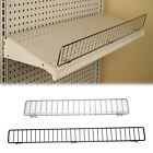 "Gondola Shelf Wire Front Fence Fits Lozier & Madix Shelving - 36"" or 48"""