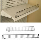 Gondola Shelf Wire Front Fence Fits Lozier & Madix Shelving - 36' or 48'