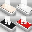 Glass Case for iPhone X XR XS MAX HYBRID Tempered Glass & Silicone Ultra Thin