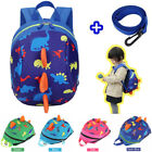 Внешний вид - Kid Toddler Baby Safety Harness Backpack Anti-lost Leash Dinosaur Bag with Reins