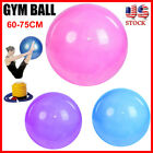 Women Yoga Exercise Ball Gym Pilates Balance Fitness Air Pump Anti-Burst 3 Color image