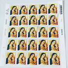 100 2nd Class Unfranked Stamps off PaperWITH ORIGINAL GUM Easy Peel