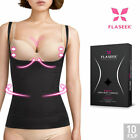 FLASEEK Seekret Open-Bust CAMISOLE Black Seamless Body Shaping Underwear
