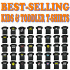 Kids Tshirt Funny Childrens Toddlers Tee Top T-Shirt SUPER VARIOUS DESIGNS BK17