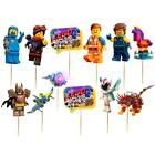 LEGOS MOVIE 2 CUPCAKE CAKE TOPPER party favors balloon decoration TOPPERS