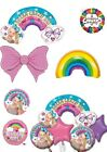 Jojo Siwa (Jo Jo Bows) & Rainbow Foil Helium Balloons Party Ware Decoration