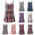 Summer Women Summer Printed Sleeveless Vest Blouse Tank Tops Camis Clothes Shirt