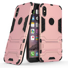 Slim Heavy Duty Shock Proof Armour Cover For Apple iPhone Models X XS 7 8 Max