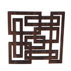 Home Exquisite Walnut Wood Placemat Insulation Pad Anti-hot Desk Pad Mat shan
