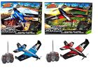 Air Hogs Sky Stunt Plane Red Blue10+ Toy Jet Car Pilot Play RC IR Remote Control