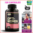 120 Caps Optimum Nutrition Opti-Women Daily Multi-Vitamin For Females 18MG IRON $22.84 USD on eBay