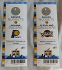 2013-14 Denver Nuggets Basketball NBA Ticket Stub Pick one on eBay
