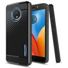 For Motorola Moto E4/E4 Plus Shockproof Impact Phone Case Cover+Screen Protector