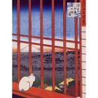 Utagawa Hiroshige Japanese Otori Shrine Old Painting 12X16 Inch Framed Art Print