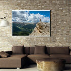 Modern Mountaintop Landscape Canvas Painting Poster Picture Home Wall Art Decor