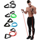Latex Elastic Resistance Band Pilates Tube Pull Rope Gym Yoga Fitness Equipment image