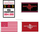 Houston Rockets NBA Flag 3x5 Ft Polyester Mancave NEW! FAST SHIPPING Harden Paul on eBay
