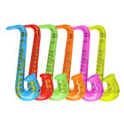 Inflatable GUITAR/SAXOPHONE/MICROPHONE Blow Up Fancy Dress Party Bag Prop Lot BE