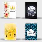 Single Or Pack Of 4 Ramadan Mubarak Kareem Celebration Greeting Card Gift D2