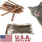 Внешний вид - 20Pcs Cat Cleaning Teeth Natural Catnip Pet Molar Toothpaste Silvervine Stick US