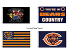 Chicago Bears Flag 3x5 feet Mancave Indoor Outdoor NEW! FAST SHIPPING Trubisky on eBay