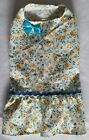 Vines and Yellow Roses Dress Dog Puppy Teacup Pet Clothes XXXS - Large