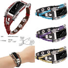 New color Handmade Leather Wrist Strap Band For Fitbit Inspire / Inspire HR  image