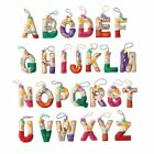 Avon Holiday Cheer Alphabet Christmas Ornaments