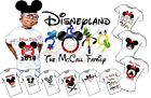 DISNEY TRIP IRON ON T SHIRT TRANSFER LOTS OF DESIGNS SOME PERSONALISED 2019